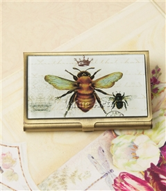 bee card case