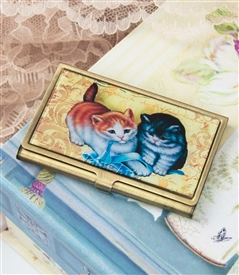 kitten Play Card Case