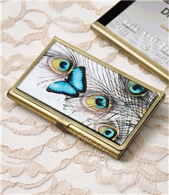 butterfly card case