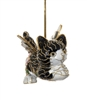 flying cat ornament