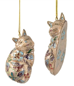 cat ornament