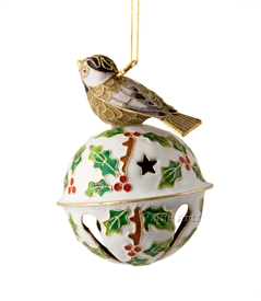 bird bell ornament