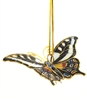 Cloisonne Small Butterfly Ornament