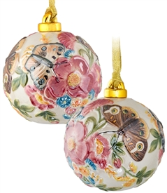 Butterfly Porcelain Ball