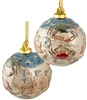 Crab Porcelain Ball Ornament