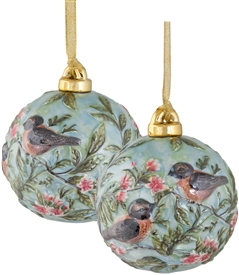 Robin Porcelain Ornament