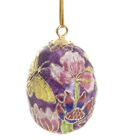 Cloisonne Egg Ornament