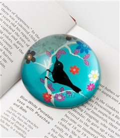 bird paperweight
