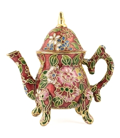 Cloisonne English Teapot