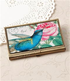 humming bird card case