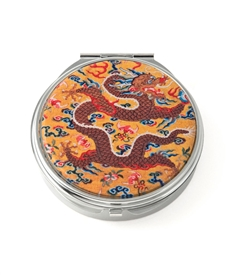 Imperial Dragon Round Pill Box
