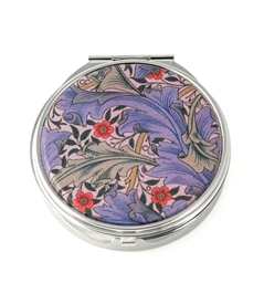 William Morris Floral Granville Round Pill Box