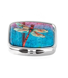 Red Dragonfly Pill Box