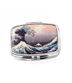 Great Wave Pill Box