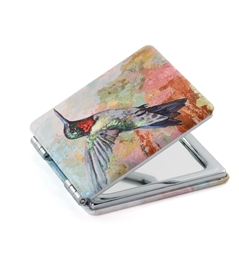 Hummingbird Travel Mirror