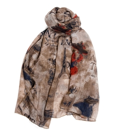 Weekend A Paris Scarf