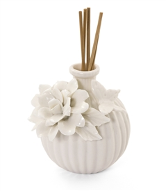 Porcelain Butterfly Peony Reed Diffuser