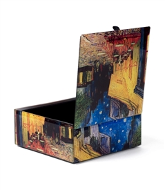 Cafe Terrace By Van Gogh Keepsake Box