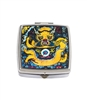 Oriental Dragon Square Pill Box