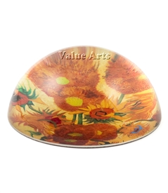 Van Gogh Sunflower Paperweight
