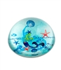 Mermaid Crystal Dome Paper Weight