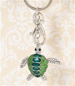 Green Sea Turtle Key Chain/Purse Jewelry