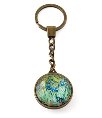 Irises Key Ring