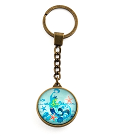 Mermaid Key Ring