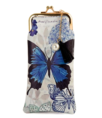 Blue Butterfly Accessories Case