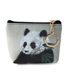 Panda Bear Keyring Coin Purse
