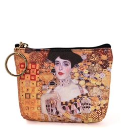 Portrait Of Adele Bloch-bauer Keyring Coin Purse