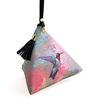 Hummingbird Triangle Wristlet Clutch Purse