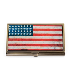 American Flag Card Case