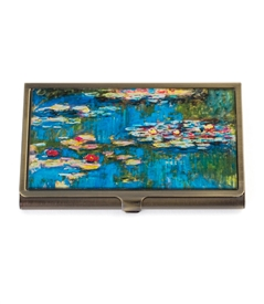 Water Lilies Card Case