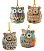 Cloisonne Owl Ornament