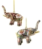 Cloisonne Elephant Ornament