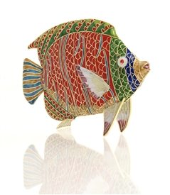 Cloisonne Tropical Fish