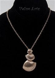 Rose Gold Plating Seashell Pendant Necklace