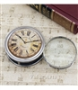 Vintage Clock Folding Magnifier/Paper Weight