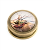 Fishing Boats On The Beach Folding Magnifier