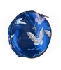 Silk Round Pouch With Zipper/Butterfly