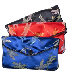 X-Large Dragonfly Silk Pouch
