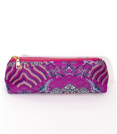 silk pencil pouch