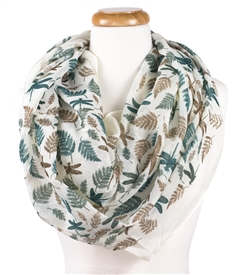 Botanical Dragonfly Scarf