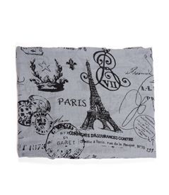 Paris Themed Scarf