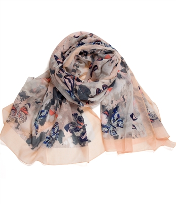 One Hundred Butterfly Scarf
