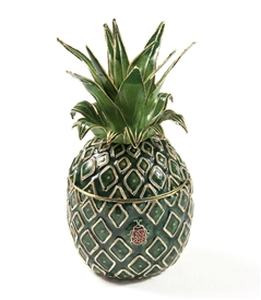 Cloisonne Pineapple Box