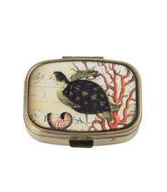 Sea Turtle Pill Box