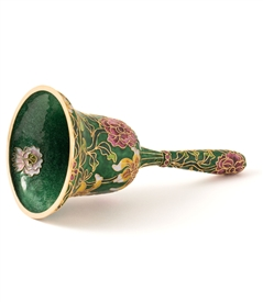 Cloisonne Floral Table Bell