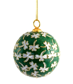 Shamrock Ball Ornament